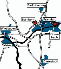 Rhein-Main-Gebiet: Frankfurt, Darmstadt, Mainz und Wiesbaden